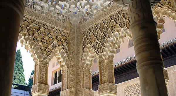 Alhambra, Granada, Andalucía, España. Author and Copyright: Liliana Ramerini