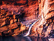Handrail Pool, Weano Gorge, Karijini National Park, Australia Occidental. Author and Copyright: Marco Ramerini