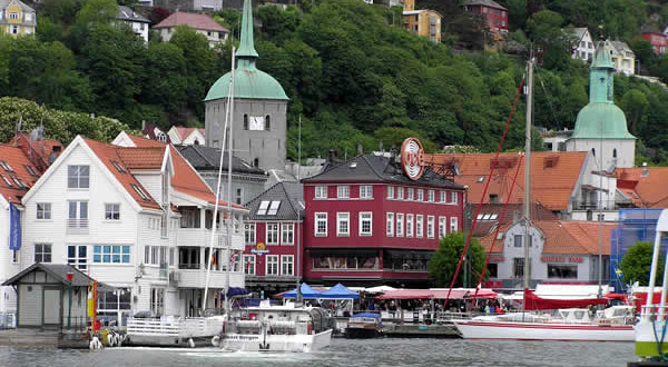 Bergen, Noruega. Autor y Copyright Marco Ramerini