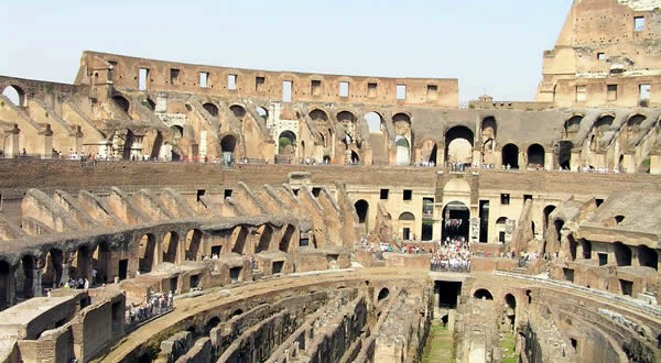 Coliseo, Roma, Italia. Autor y Copyright Marco Ramerini