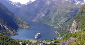 Geirangerfjord, Noruega. Autor y Copyright Marco Ramerini
