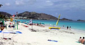 Orient Bay, San Martín (Saint Martin). Author and Copyright Marco Ramerini
