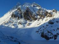 Laguna y Cerro 5 Hermanos, Tierra del Fuego, Argentina. Autor y Copyright Guillermo Puliani