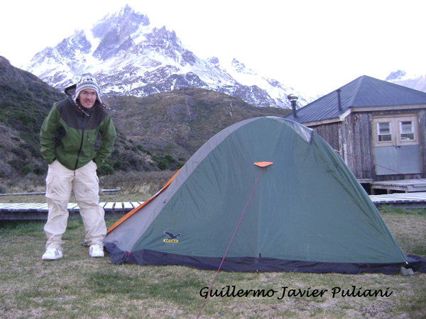 Torres del Paine, Chile. Autor y Copyright Guillermo Puliani.