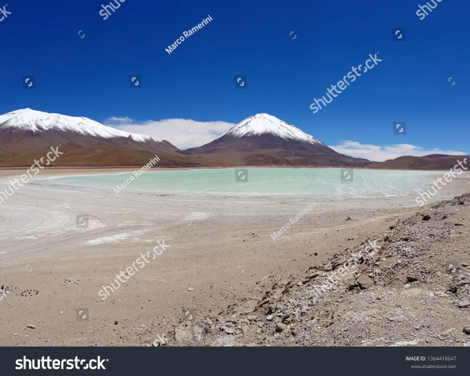 Laguna Verde, Bolivia. Autor y Copyright Marco Ramerini