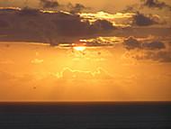 Puesta del sol, Praia do Boldró, Fernando de Noronha, Brasil. Author and Copyright: Marco Ramerini