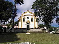 Iglesia, Vila dos Remédios, Fernando de Noronha, Brasil. Author and Copyright: Marco Ramerini