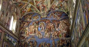 Capilla Sixtina, Ciudad del Vaticano, Roma. Author and Copyright: Marco Ramerini