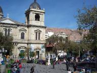 La Paz, Bolivia. Author and Copyright: Nello and Nadia Lubrina