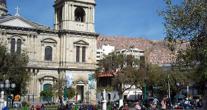 La Paz, Bolivia. Author and Copyright: Nello and Nadia Lubrina