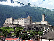 Bellinzona, Suiza. Author and Copyright: Marco Ramerini