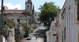 Una calle en Olinda, Brasil. Author and Copyright: Marco Ramerini