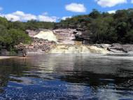 Cascada de Río Roncador, Marimbus Humedal, Chapada Diamantina, Bahía, Brasil. Author and Copyright: Marco Ramerini
