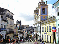 Pelourinho, Salvador, Bahia, Brasil. Author and Copyright: Marco Ramerini