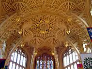 El techo de la Lady Chapel, Abadía de Westminster, Londres. Autor y Copyright: Marco Ramerini