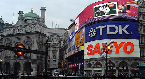 Piccadilly Circus, Londres, Reino Unido. Autor y Copyright Marco Ramerini