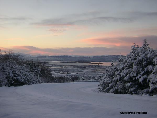 Camino Martial, Tierra del Fuego, Argentina. Autor y Copyright Guillermo Puliani
