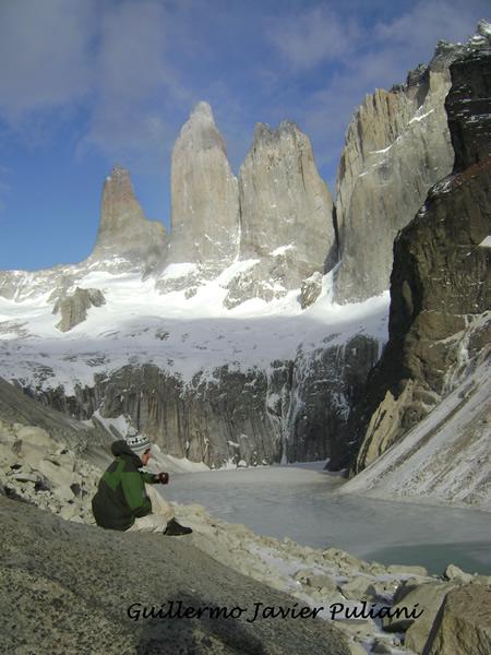 Torres del Paine, Chile. Autor y Copyright Guillermo Puliani.