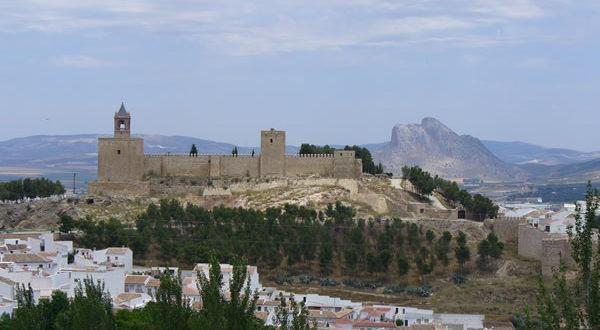 Alcazaba, Antequera, Andalucía, España. Autor y Copyright Liliana Ramerini