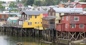 Palafitos Gamboa, Castro, Isla de Chiloé, Chile. Autor y Copyright Marco Ramerini