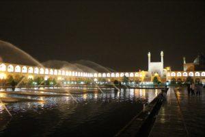 Plaza Naqsh-e Jahān, Esfahan, Irán. Autor y Copyright Marco Ramerini.