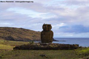 Ahu Ature Huke, Anakena, Isla de Pascua, Chile. Autor y Copyright Marco Ramerini