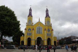 Iglesia de San Francisco, Castro, Isla Chiloe, Chile. Autor y Copyright Marco Ramerini