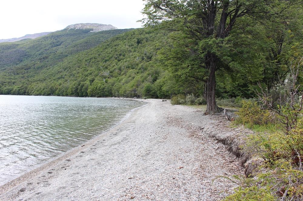 Lago Roca, Parque nacional Tierra del Fuego, Argentina. Autor y Copyright Marco Ramerini