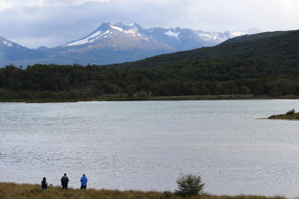 Laguna Negra, Parque nacional Tierra del Fuego, Argentina. Autor y Copyright Marco Ramerini
