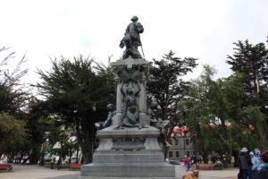 Monumento a Magallanes, Punta Arenas, Chile. Autor y Copyright Marco Ramerini
