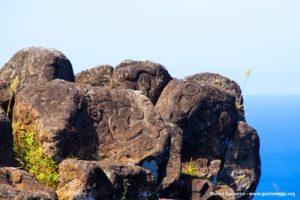 Orongo, Isla de Pascua, Chile. Autor y Copyright Marco Ramerini