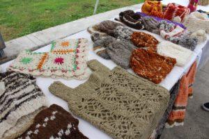 Productos de artesanía, Castro, Isla Chiloe, Chile. Autor y Copyright Marco Ramerini