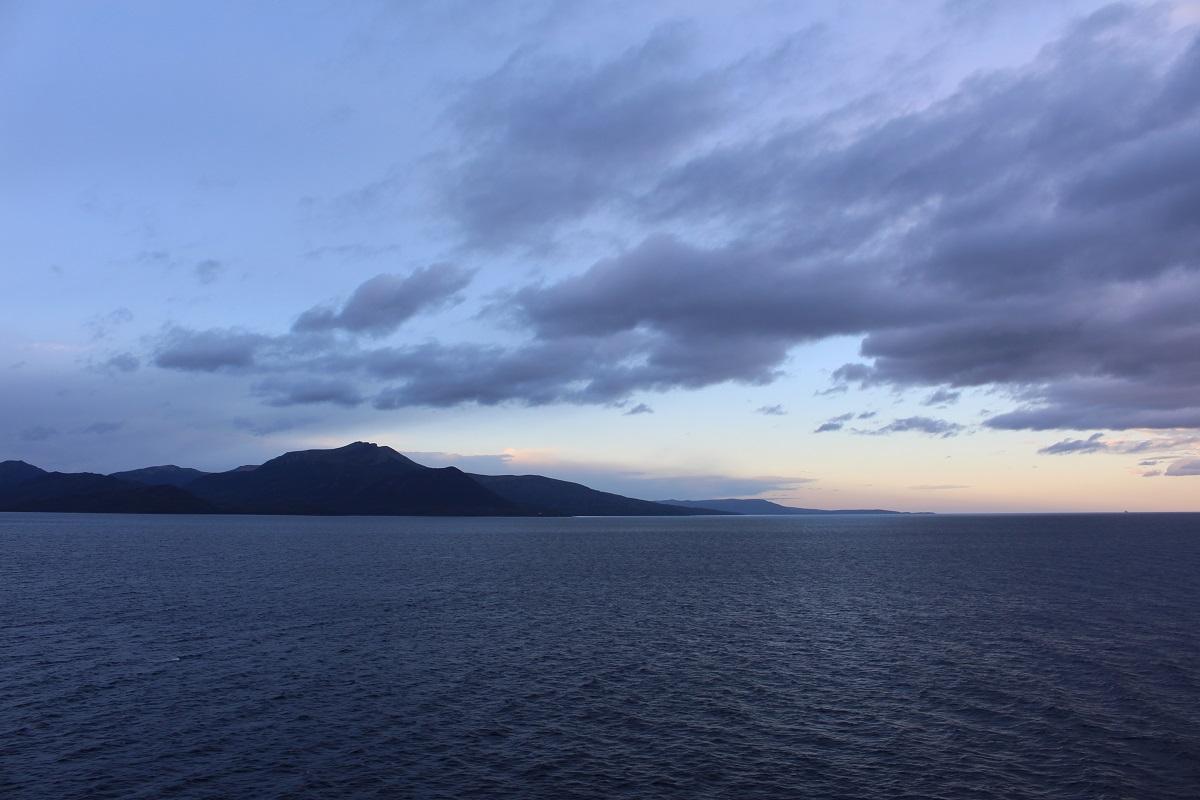 Estrecho de Magallanes, Punta Arenas, Chile. Autor y Copyright Marco Ramerini