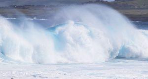 Océano Pacífico, Isla de Pascua, Chile. Autor y Copyright Marco Ramerini