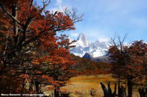 Monte Fitz Roy, Parque Nacional Los Glaciares, Argentina. Autor y Copyright Marco Ramerini