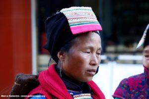 Mujer, Shengcun, Yuanyang, Yunnan, China. Autor y Copyright Marco Ramerini...