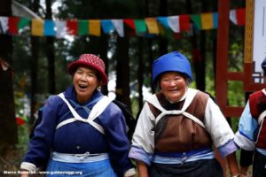 Mujeres, Baisha, Yunnan, China. Autor y Copyright Marco Ramerini.