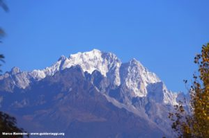 Monte de la nieve del dragón de jade (Yulongxue Shan), Yunnan, China. Autor y Copyright Marco Ramerini