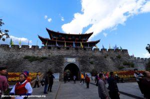 Paredes de Dali, Yunnan, China. Autor y Copyright Marco Ramerini.