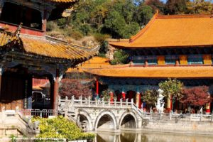Templo Yantong, Kunming, Yunnan, China. Autor y Copyright Marco Ramerini.
