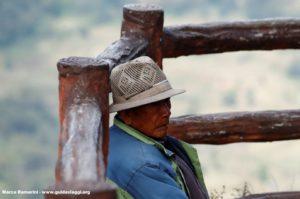 Hombre, Bada, Yuanyang, Yunnan, China. Autor y Copyright Marco Ramerini...