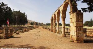 Anjar, Valle de Beqa, Líbano. Autor y Copyright Marco Ramerini