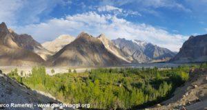 Conos de Passu, Valle de Hunza, Pakistán. Autor y Copyright Marco Ramerini
