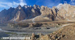 Passu Cones, Valle de Hunza, Pakistán. Autor y Copyright Marco Ramerini.