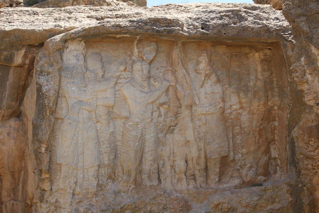 Bajorrelieve de la investidura de Ardashir I, Naqsh-e Rajab, Irán. Autor y Copyright Marco Ramerini