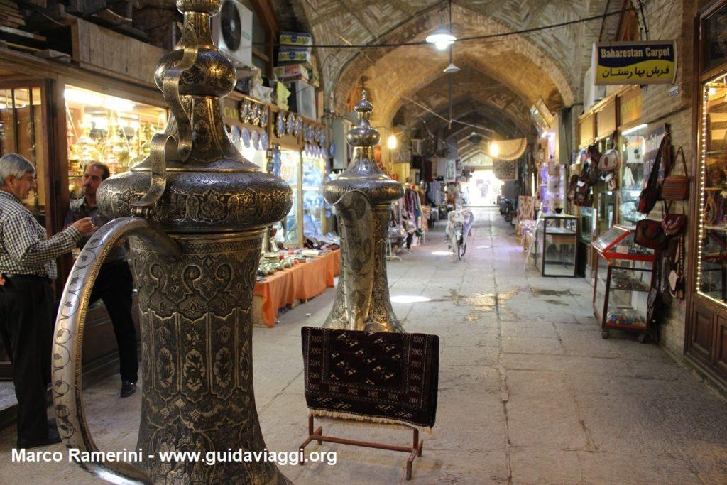 Bazar, Naqsh-e jahān, Irán. Autor y Copyright Marco Ramerini