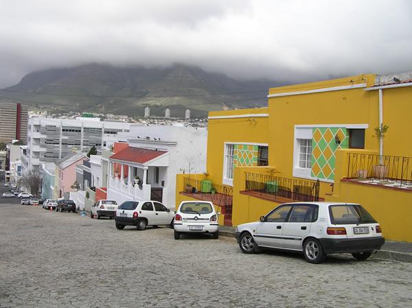 El barrio malayo de Ciudad del Cabo: Bo-Kaap, Ciudad del Cabo, Sudáfrica. Autor y Copyright Marco Ramerini