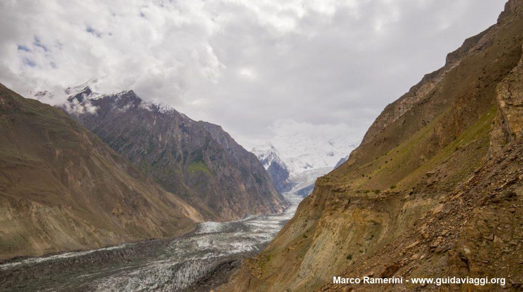 Glaciar Bualtar, Valle Hopar, Pakistán. Autor y Copyright Marco Ramerini