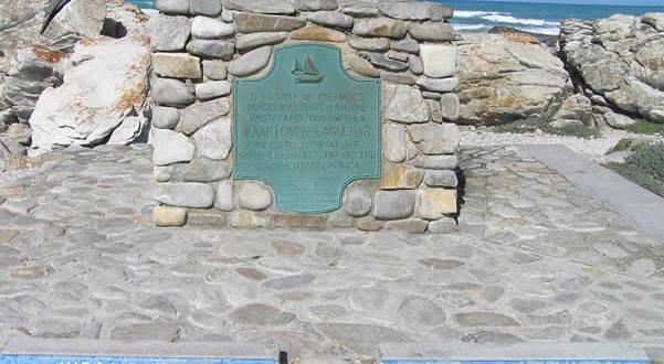 Cabo de las Agujas, Sudáfrica. Autor y Copyright Marco Ramerini