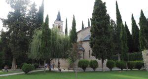 Convento de Bodbe, Sighnaghi, Georgia. Autor y Copyright Marco Ramerini